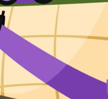 Donatello in Disguise Sticker
