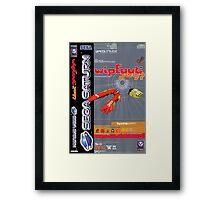 Wipeout Sega Saturn Game Framed Print