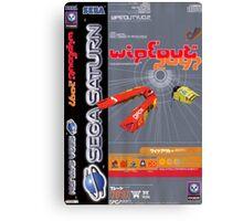 Wipeout Sega Saturn Game Canvas Print
