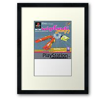 Wipeout Playstation Framed Print