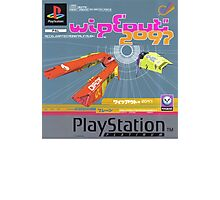 Wipeout Playstation Photographic Print