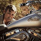 An Indian Man by Randy Turnbow