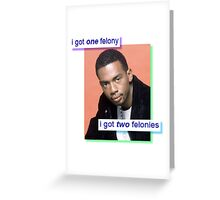 b*tch i'm bill bellamy Greeting Card