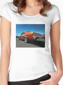 1974 Chevy Nova SS Yenko Women's Fitted Scoop T-Shirt