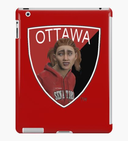 Ottawa Senators logo meme from NHL 15 - reddit iPad Case/Skin