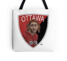 Ottawa Senators logo meme from NHL 15 - reddit Tote Bag
