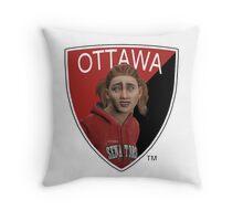 Ottawa Senators logo meme from NHL 15 - reddit Throw Pillow