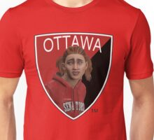 Ottawa Senators logo meme from NHL 15 - reddit Unisex T-Shirt
