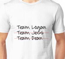 Team Logan Checklist Unisex T-Shirt