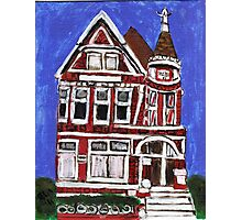 Red Victorian in Pacific Heights(San Francisco) Photographic Print