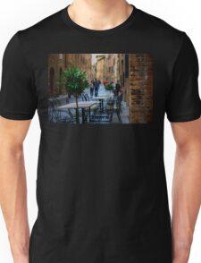 Streets of San Gimignano Unisex T-Shirt