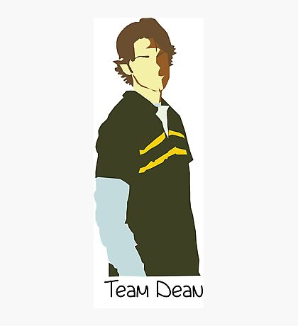 Team Dean Cartoon Photographic Print