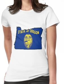 Oregon Womens Fitted T-Shirt