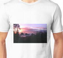 Purple Sunrise Unisex T-Shirt
