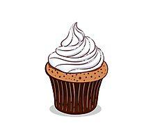 Creamy Cupcakes Photographic Print
