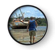 Mudflat Tide  Clock