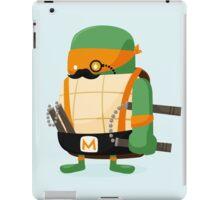 Michelangelo in Disguise iPad Case/Skin