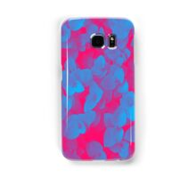 Nature Pattern - # 3 Leaves (Blue Red) Samsung Galaxy Case/Skin