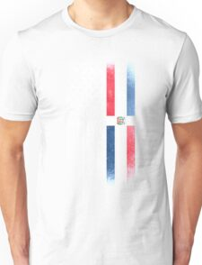 Dominican American Flag - Half Dominican Half American  Unisex T-Shirt