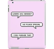 No Place Special iPad Case/Skin