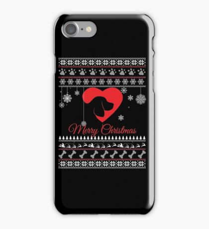 Christmas for Beagle iPhone Case/Skin