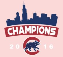 Chicago Cubs World Series Champions 2016 Kids Tee