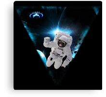 Captain Snot Lost in Space Canvas Print