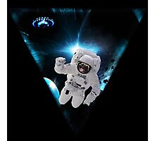 Captain Snot Lost in Space Photographic Print