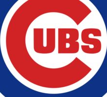 Chicago Cubs (World Series Edition) Sticker