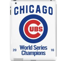 Chicago Cubs (World Series Edition) iPad Case/Skin