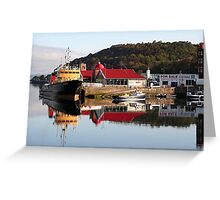 Oban, Scotland, United Kingdom Greeting Card