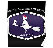 Witch Delivery Service Poster