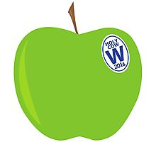 green apples - cubs world series champs Photographic Print
