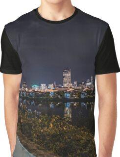 Portland Night View Graphic T-Shirt