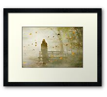Don't look back ... Framed Print