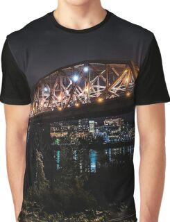 Broadway Bridge Portland Graphic T-Shirt