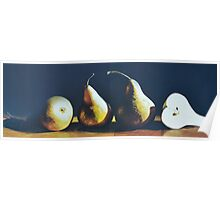 Three And A Half Pears Poster