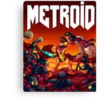 Metroid Doom Canvas Print