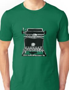 Sun Standard Typewriter Unisex T-Shirt