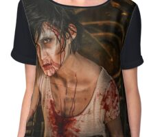 The Zombies Have Come Chiffon Top