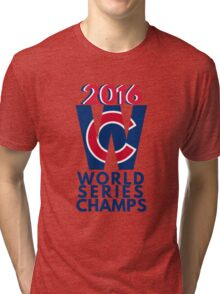 World Series Champs Chicago Cubs 2016 Tri-blend T-Shirt