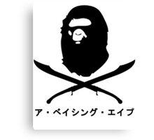 Bape x Pirate Canvas Print