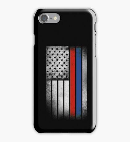 Russian American Flag - Half Russian Half American iPhone Case/Skin