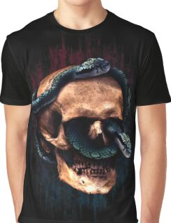 Snakeskull Graphic T-Shirt