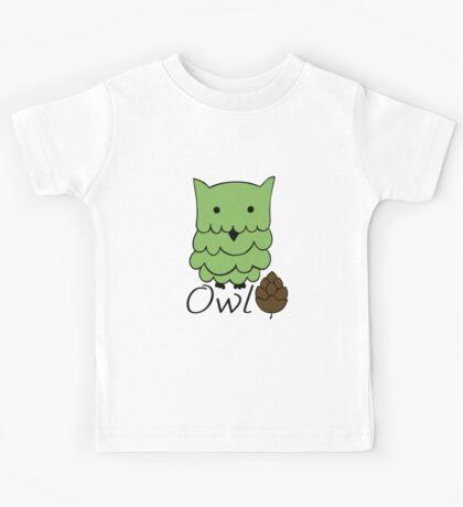 Cute cartoon owls Kids Tee