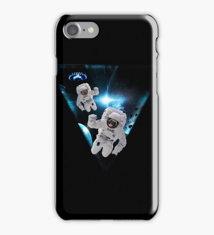 Puppies Lost in Space iPhone Case/Skin