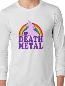 Death Metal Unicorn Long Sleeve T-Shirt