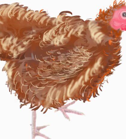 Australian Hen Sticker
