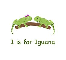 I is for Iguana by Eggtooth
