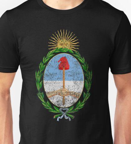 Argentinian Coat of Arms Argentina Symbol Unisex T-Shirt